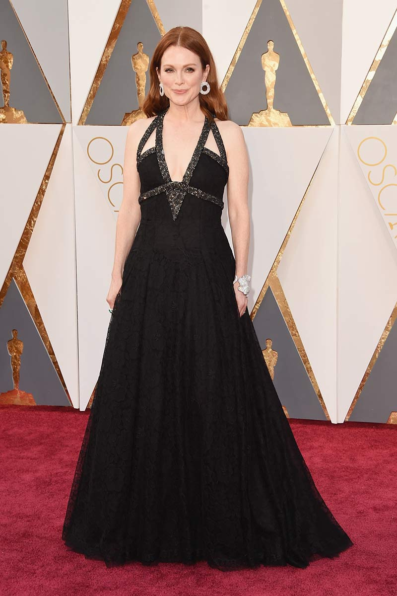 Juliane Moore de Chanel Alta Costura